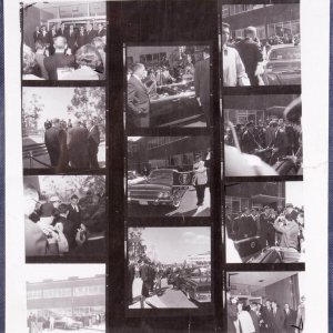 Original JFK - John F. Kennedy Photo Collage