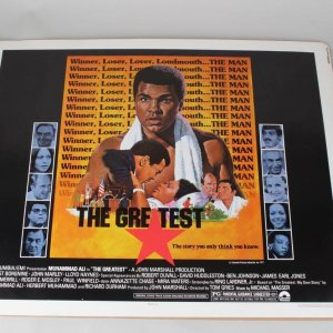 "Muhammad Ali 22x28 ""The Greatest"" Movie Poster"