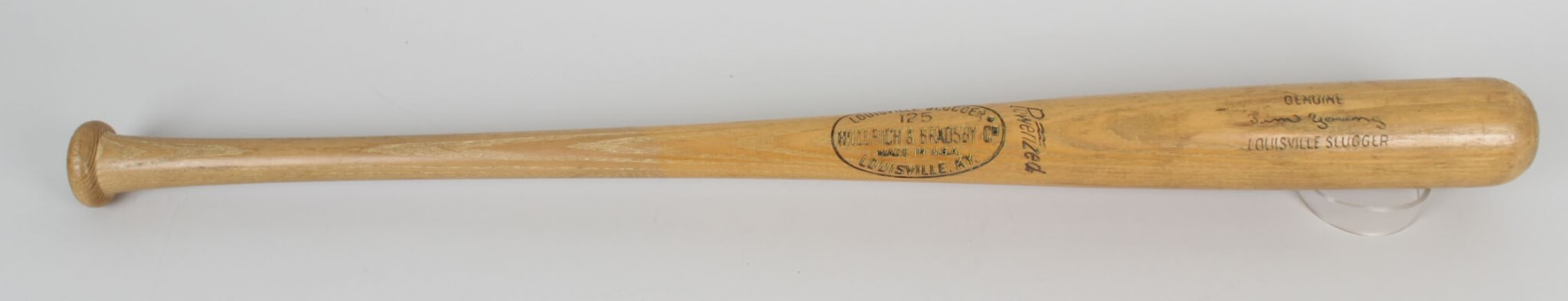 1998 Expos Tim Young Game-Used Louisville Slugger K55 Bat41818_01