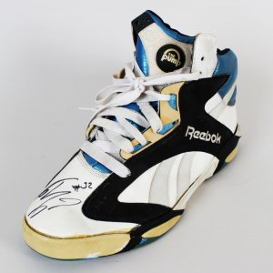 Orlando Magic Shaquille O'neal Game-Worn, Signed Shoe