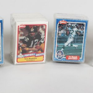 1988 & 1989 Swell Football Hall of Fame Greats Card Set Lot of (6)