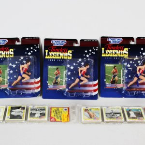 Bruce Jenner Starting Lineup & 1984 Olympic Cards