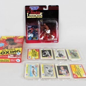 Muhammad Ali Starting Line Up, 1984 Olympic Cards & All World Boxing Cards