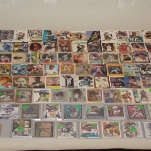 Vintage & Modern Mix Sports Card Lot 200+ HOFers, Stars, Signed, Game Used, Rookies, Inserts