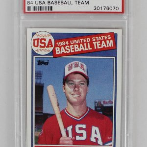 1985 Topps - Mark McGwire USA Baseball Rookie Card (#401 - PSA GEM MT 10)