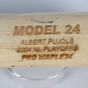 2004 NL Playoffs - St. Louis Cardinals - Albert Pujols Game X-Bat (PSA/DNA GU LOA)