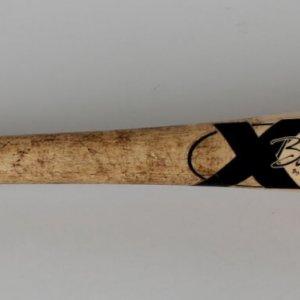 2004 NL Playoffs - St. Louis Cardinals - Albert Pujols Game X-Bat (PSA/DNA GU LOA)