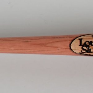 Los Angeles Dodgers Billy Ashley Game-Used Louisville Slugger R43 Bat