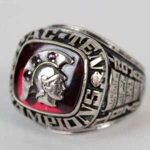 1979 University of Southern California USC Trojans - Brad Streelman Rose Bowl Ring