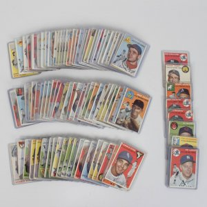 1954 Topps Baseball Card Lot (90+) feat. Phil Rizzuto, Johnny Pesky, Al Rosen etc.