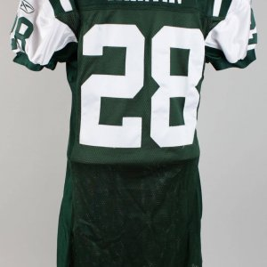 2005 New York Jets HOF Curtis Martin Game Worn Home Jersey