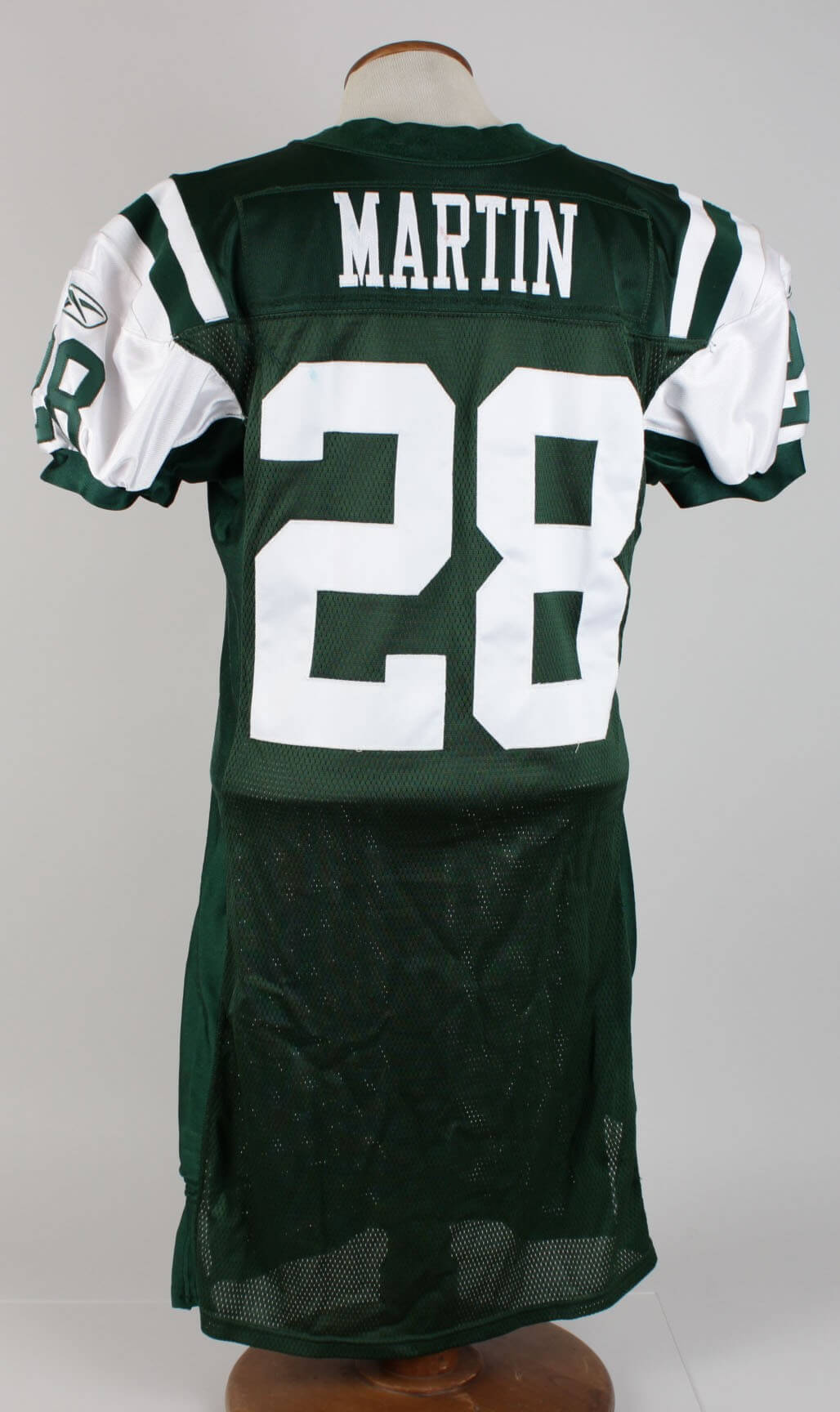 2423ae05e4f 2005 New York Jets HOFer – Curtis Martin Game-Worn Home Jersey ...