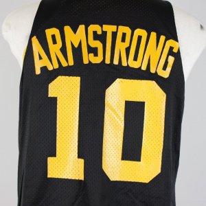 1985–89 University of Iowa - B. J. Armstrong Game-Worn Practice Jersey