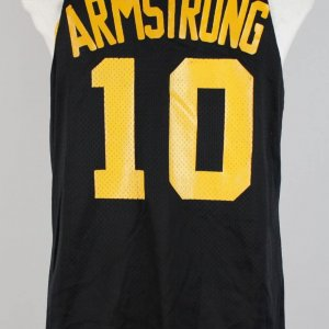 (1985–1989) B J Armstrong University of Iowa Game Worn Practice Jersey