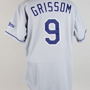 2001 Marquis Grissom Los Angeles Dodgers Road Jersey