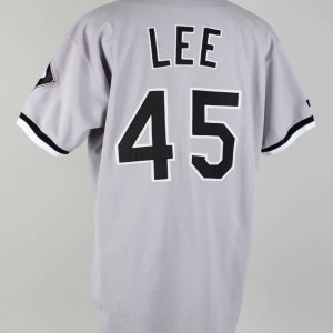 1999 White Sox - Carlos Lee Game-Worn Road Jersey (Rookie Season) - COA