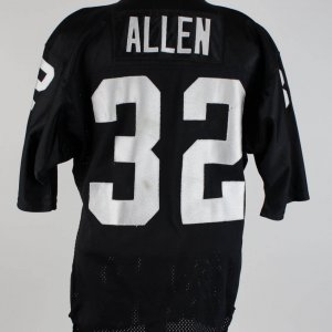 Late '80s Marcus Allen Game-Worn Black  Raiders Jersey