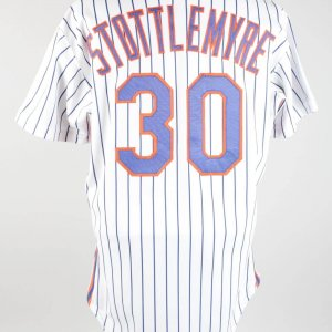 1990 Mel Stottlemyre Game-Worn Mets Coaching Jersey