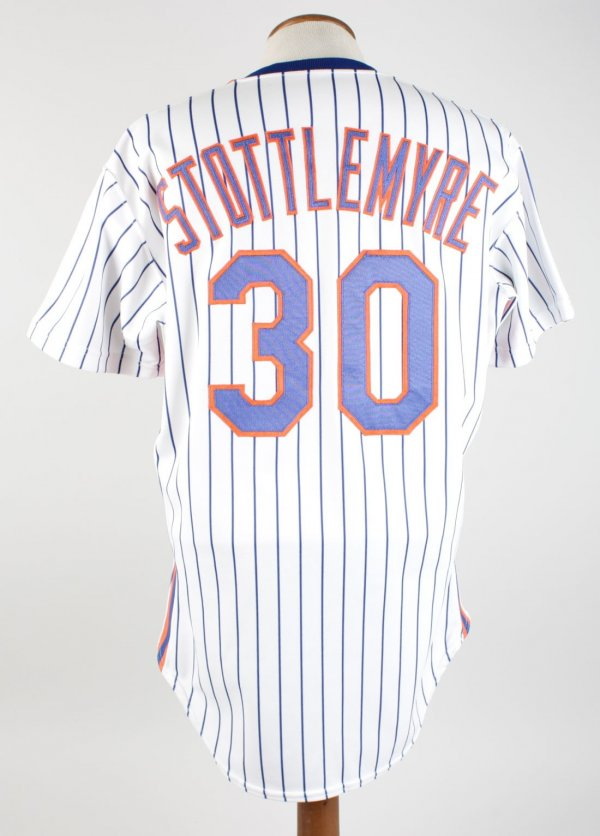 1990 Mel Stottlemyre Game-Worn Mets Coaching Jersey