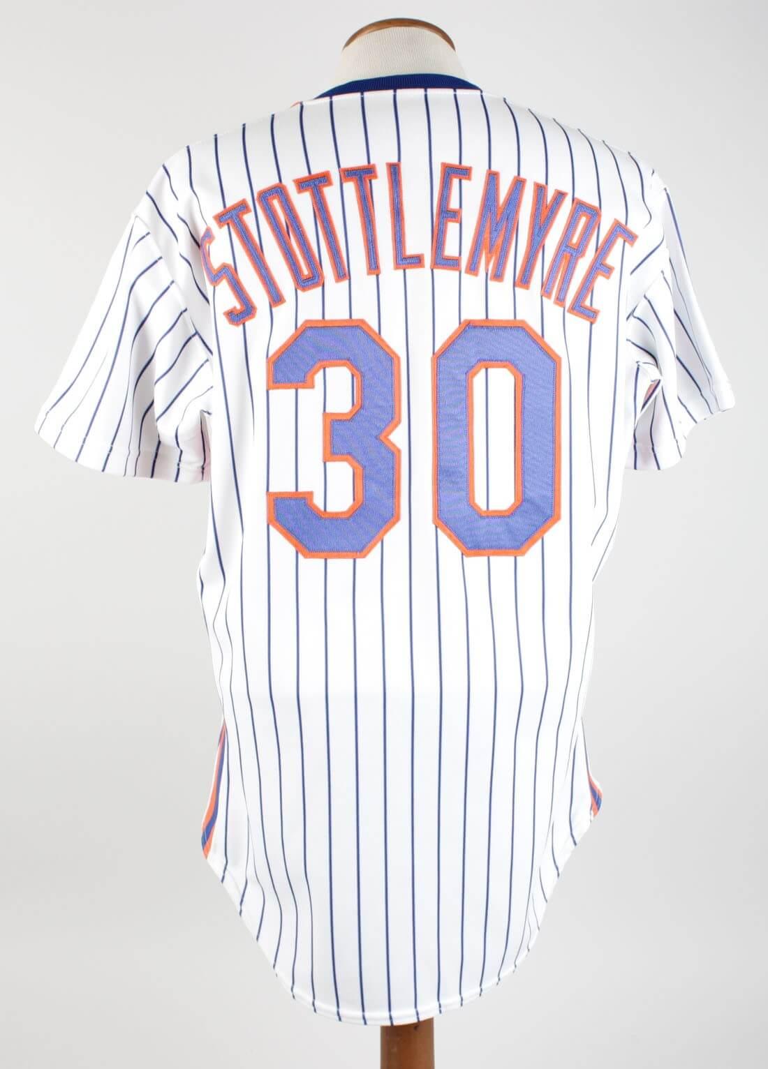 1990 Mel Stottlemyre Game-Worn Mets Coaching Jersey40031_01