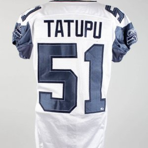 2006 Lofa Tatupu Game-Used Seahawks Jersey (w/Team Letter)