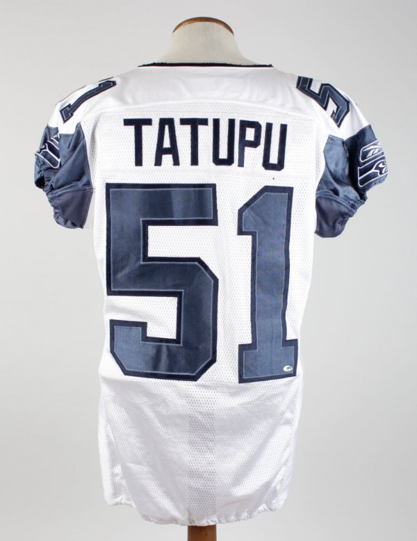 2006 Lofa Tatupu Game-Used Seahawks Jersey (w/Team Letter)