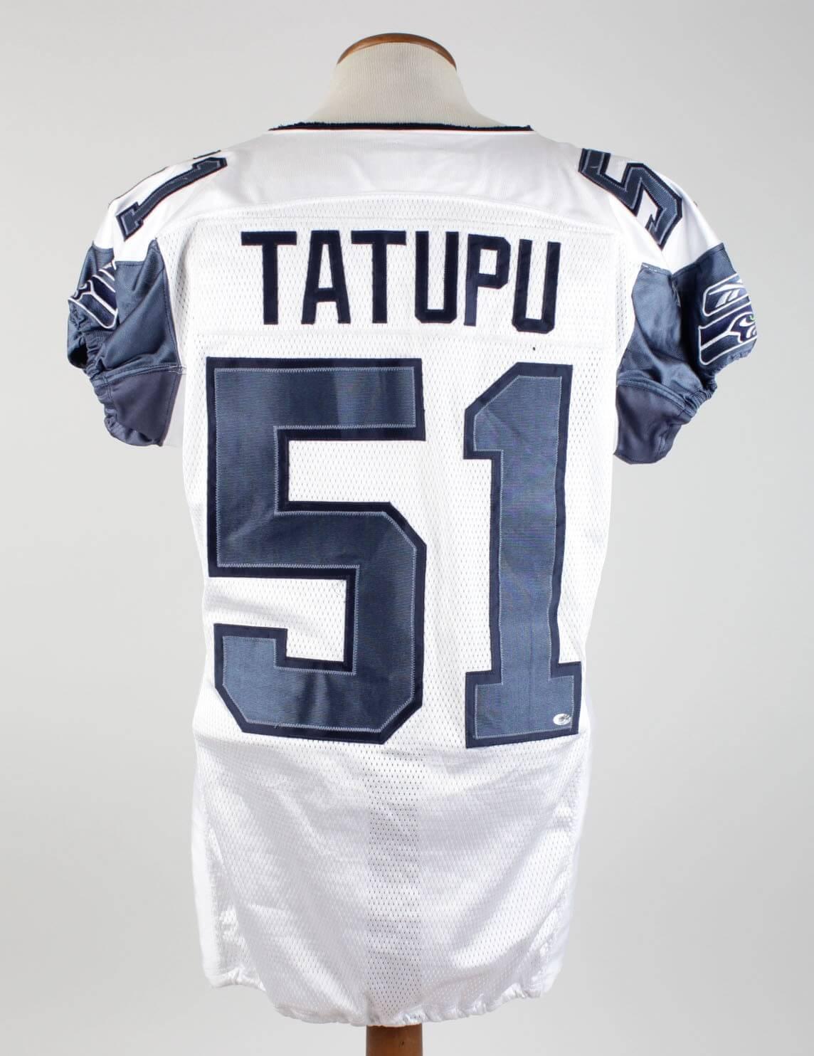 2006 Lofa Tatupu Game-Used Jersey Seahawks (w/Team Letter)