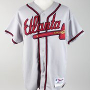 2002 John Smoltz Game-Worn Atlanta Braves Jersey - COA 100% Team