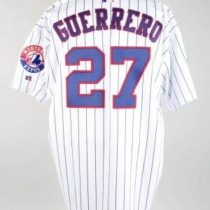 2000 Vladimir Guerrero Game-Worn Expos Jersey (w/Rocket Richard Memorial Number)