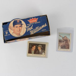 1959 Fleer Ted Williams 5-Cent Display Box