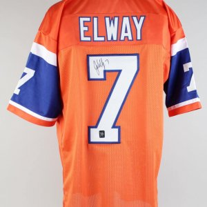 Broncos John Elway Signed Jersey (Player Holo)