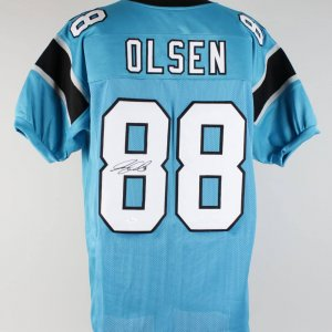 Panthers Greg Olsen Signed Jersey (JSA)