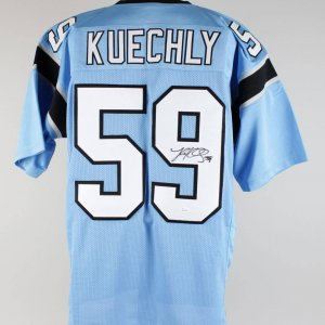 Panthers Luke Kuechly Signed Jersey (JSA)
