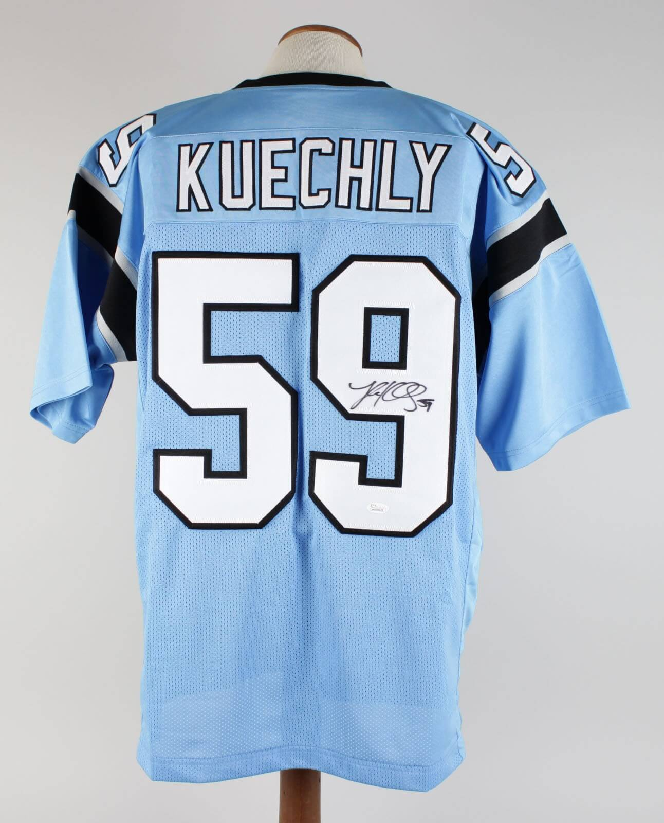 best cheap b1678 b9192 Luke Kuechly Signed Jersey Panthers - COA JSA