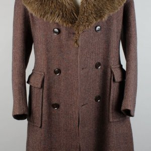 "Jimi Hendrix ""Dandy Fashions"" Overcoat From Hendix's Roadie"