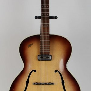 Circa 1958 Jimi Hendrix Owned / Used Hofner Senator Guitar (Hendix's Roadie, Tappy Wright LOA)