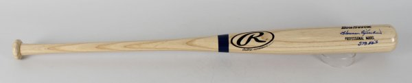 "Minnesota Twins - Harmon Killebrew Signed, Inscribed ""573 HR'S"" Bat (JSA LOA)"
