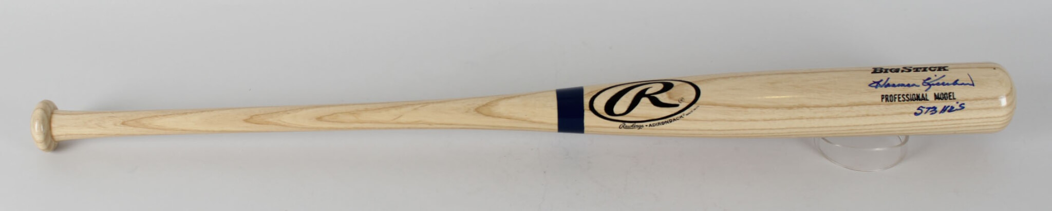 "Minnesota Twins – Harmon Killebrew Signed, Inscribed ""573 HR'S"" Bat (JSA LOA)46981_01"