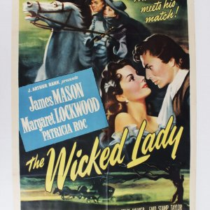 "The Wicked Lady (Universal International, 1946). One Sheet (27"" X 41""). Drama."