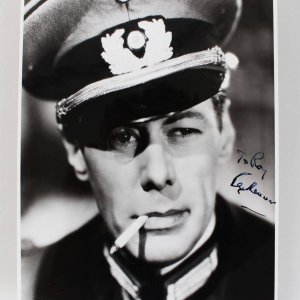 Rex Harrison Signed 8x10 National Film Archive Photo