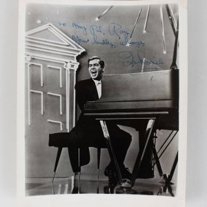 Johnnie Ray Signed Original Studio 8x10 Photo