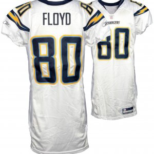 san diego chargers game worn jersey