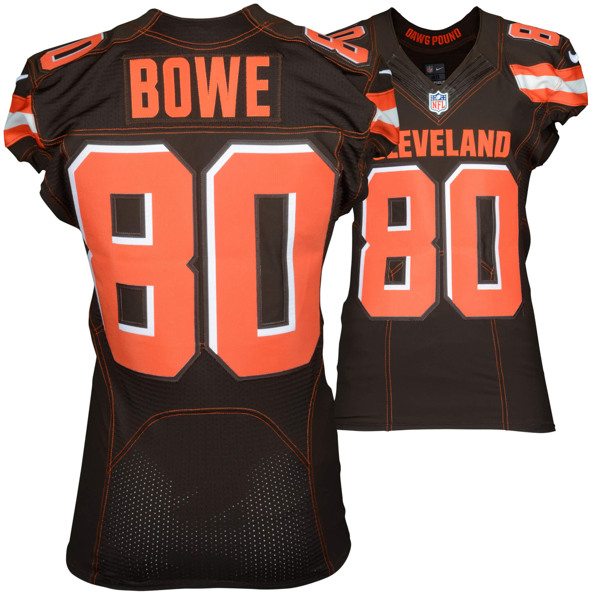 September 13, 2015 New York Jets vs. Cleveland Browns Dwayne Bowe  supplier