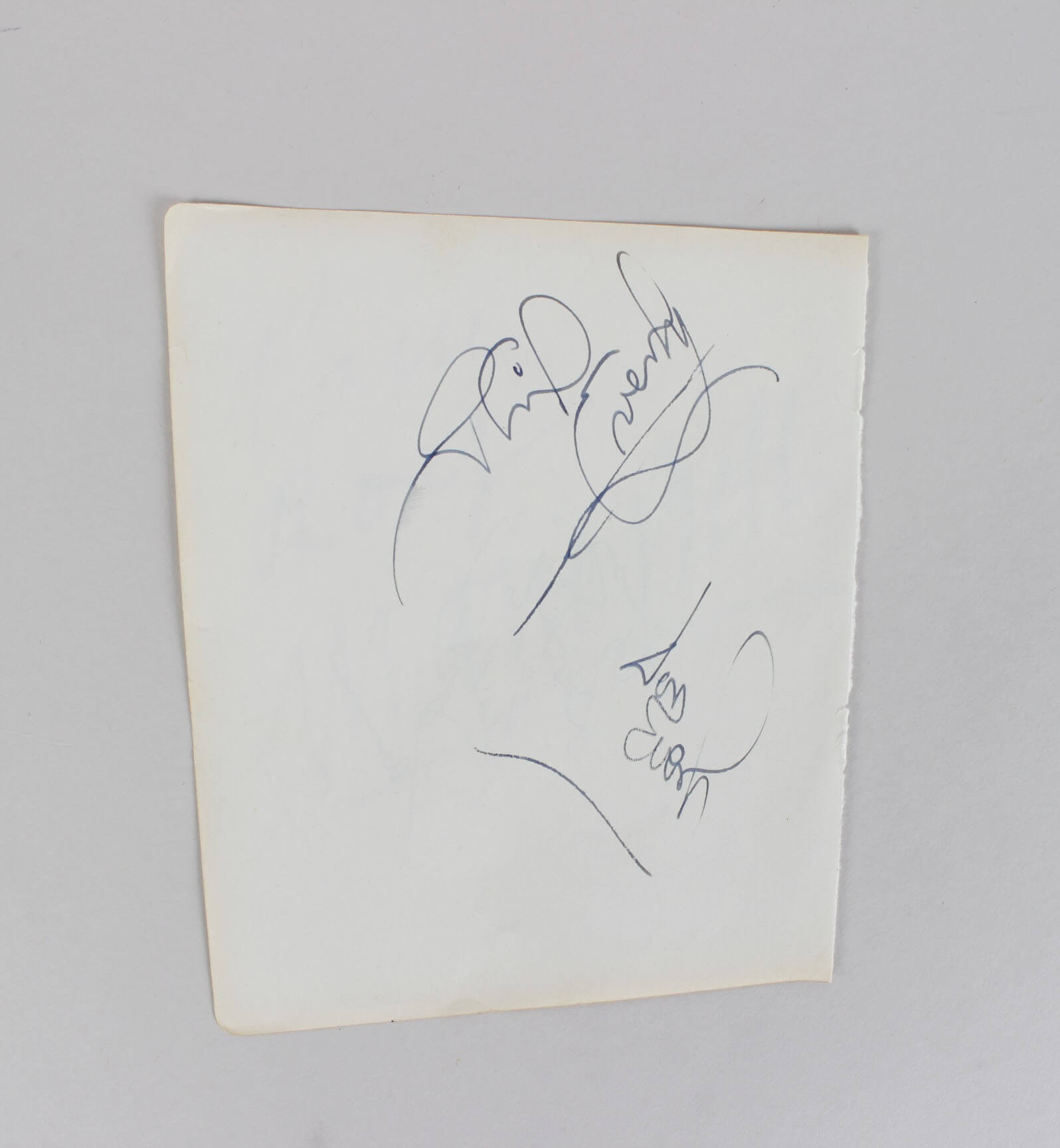 Entertainment Memorabilia Earnest Spencer Tracy Signed Album Page Coa Jsa Movies