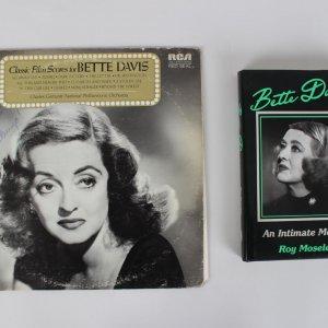 Actress & Singer Bette Davis Signed Classic Film Scores Record Album (JSA)