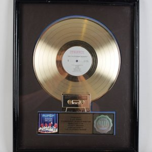 "The California Raisins "" Priority Records"" Gold Record Award - To Indy Record Promotor"