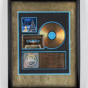 Trans Liberian Orchestra  Lava/Atlantic Gold  Record Award Presented To Indy Record Promotor