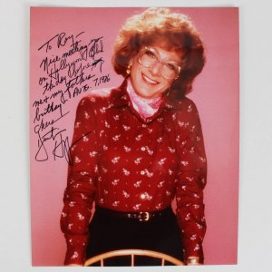 Dustin Hoffman Signed & Inscribed 8x10 Tootsie Color Photo - JSA