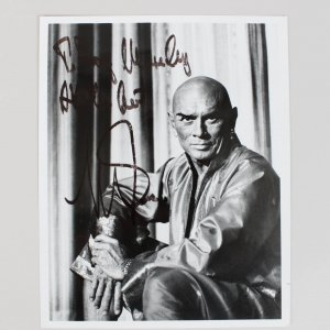"""The King and I"" - Yul Brynner Signed 8x10 Photo"