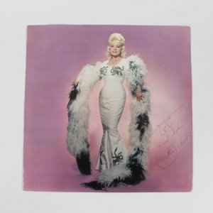 Singer Mae West Signed Record Insert